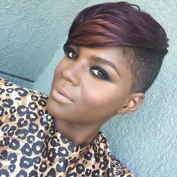 Awe Inspiring 1000 Images About Short Hairstyles On Pinterest Black Women Short Hairstyles For Black Women Fulllsitofus