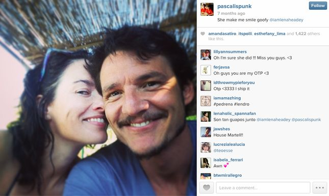 Handsome Game of Thrones' Pedro Pascal (Oberyn) Gets Cozy With Castmates, especially Lena Headey