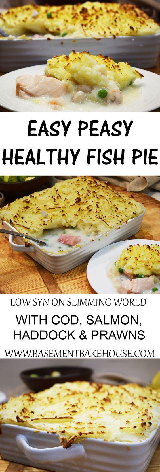 Easy Peasy Homemade Healthy Fish Pie - Slimming World - Low Syn - #PowerOfFrozen - Iceland Foods - Healthy Fish Pie - Recipe