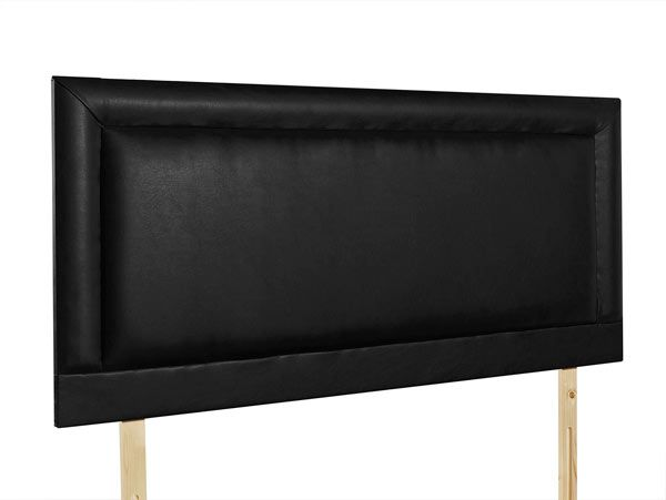 Giltedge Beds Charlie Black 4FT 6 Double Fabric Headboard