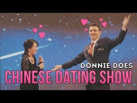 DONNIE DOES   Chinese Dating Show - YouTube