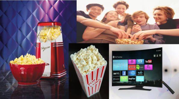 Le migliori macchina per popcorn da fare in casa mentre ti godi il film in TV o la serie televisiva preferita.