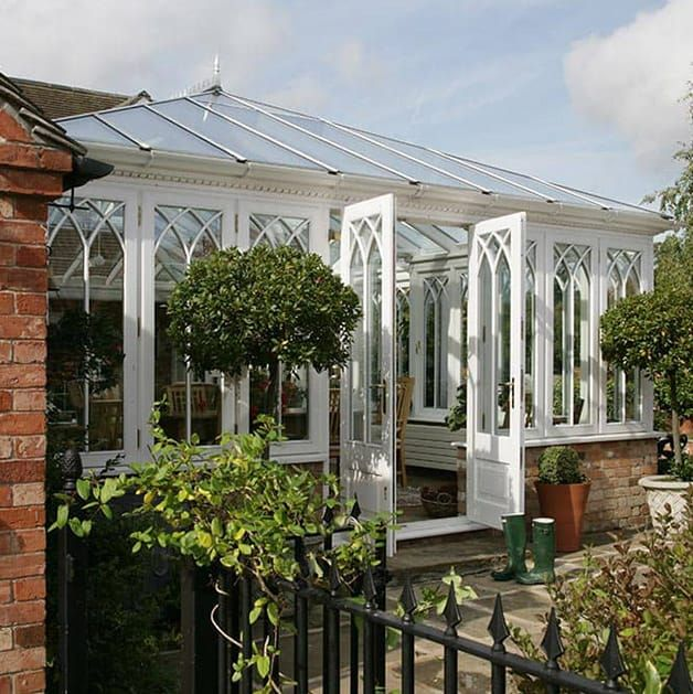 Conservatories add a conservatory to your home everest for Adding a conservatory