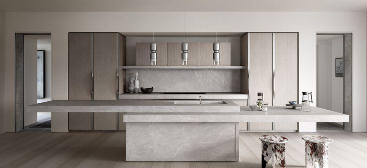 85 spring street apartment development kitchen modern
