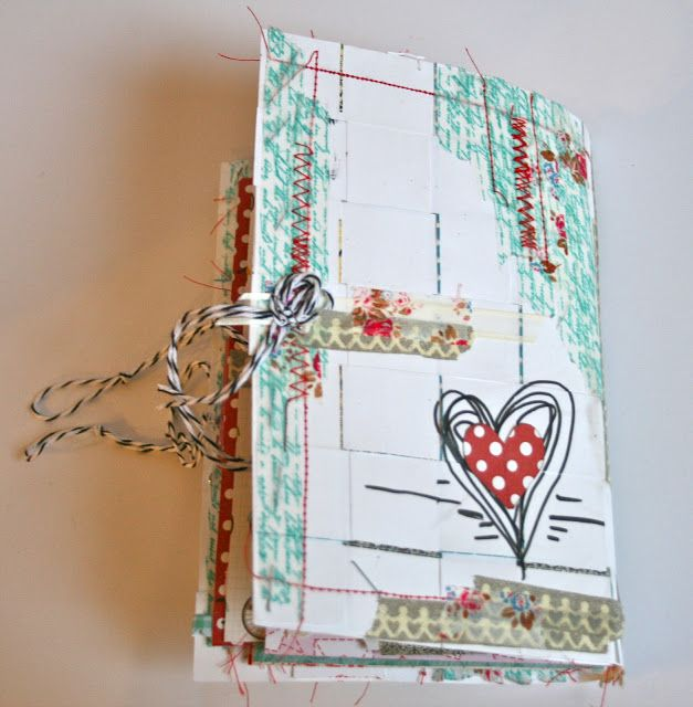 When I saw Amy Tangerine's Daybooks , I fell in love! What a fabulous concept! Loads of beautiful papers in different shapes and sizes all ...