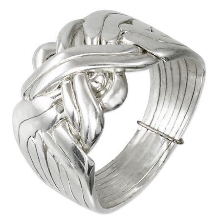 Turkish wedding Ring in silver with four bands - https://www.instagram.com/p/BKEPIfbhPws/?taken-by=ethnosverona