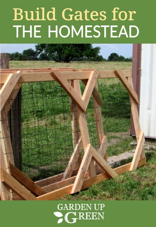 Build Your Own Gates Using 2 X 4 Boards For The Homestead This Diy Is An Easy Build Homesteadgates Diygates Outdoor Remodel Diy Gate Outdoor Gate
