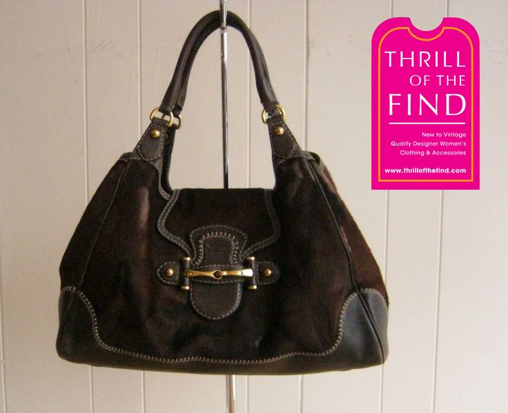 Gucci Large New Pelham Pony Hair handbag $695 #thrilloftheday #guccithrill #gucciponyhairhandbag #guccinewpelhamponyhair