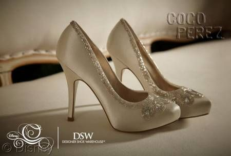 """DSW teamed up with Disney to launch a line of """"glass slippers"""" based on the classic film, Cinderella."""