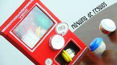 Te enseño a hacer una máquina de regalos tipo vending machine o máquina expendedora para regalar en San Valentín o cumpleaños. ¡Te encantará!
