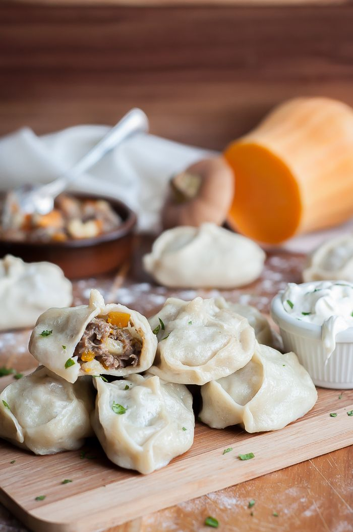 These Uzbek Steamed Dumplings - Manti are the bomb! I could hardly wait to take them out of the steamer and sink my teeth into one.