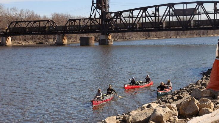 Adventure on the Mississippi: Luke Kimmes stops in Hastings on his way to the Arctic Circle | Hastings Star Gazette