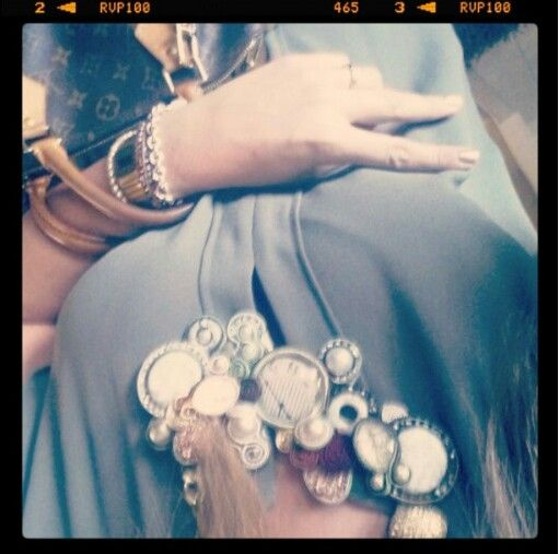 Soutache necklace ...