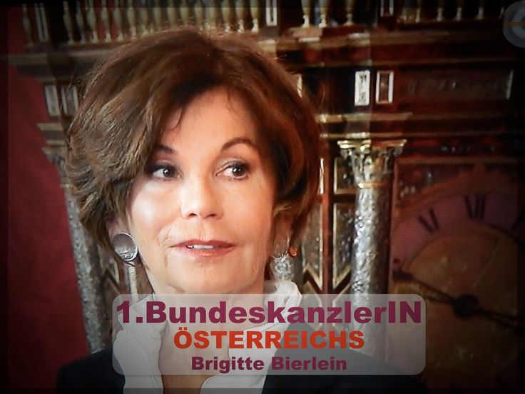 #BrigitteBierlein #ErsteBundeskanzlerinOESTERREICHs #AUSTRIA #OesterreichFREUTsi… – Günter Müller