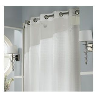 Holiday Inn Refresh Hookless Shower Curtain And Liner
