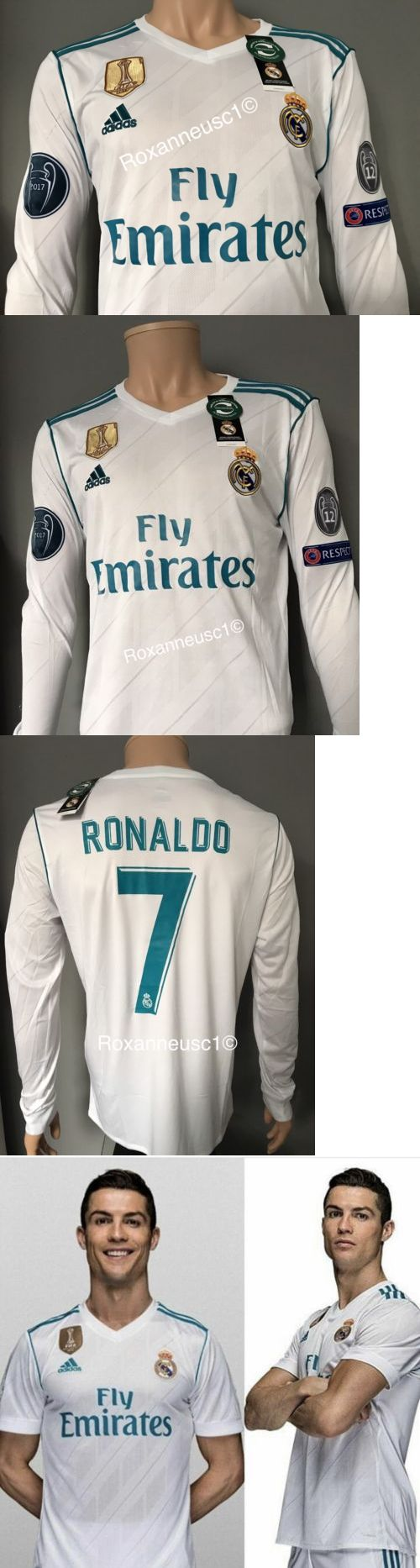 Keylor navas pays tribute to cristiano ronaldo sports mole - Men 123490 Cristiano Ronaldo 2017 2018 Real Madrid Long Sleeve Home Jersey Champions League
