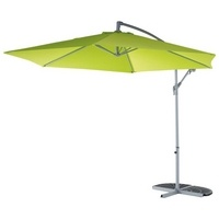 Blooma Malta Overhanging Parasol Green