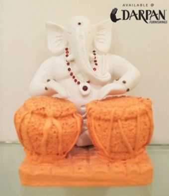 Ganpati bappa morya  Darpan Furnishings is a multi brand one-stop-shop for all home furnishings needs.  Curtains   Upholstery   Bedsheets   Pillows   Mattress   Cushions   Artifacts