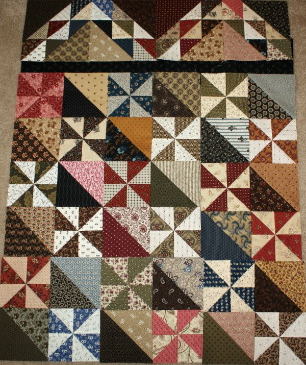 pinwheel quilt patterns | So Many Quilts, So Little Time!                                                                                                                                                                                 Plus