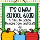 It's about that time of year again... time to get ready for Back to School!  This little memory book has pages that your students complete to remem...
