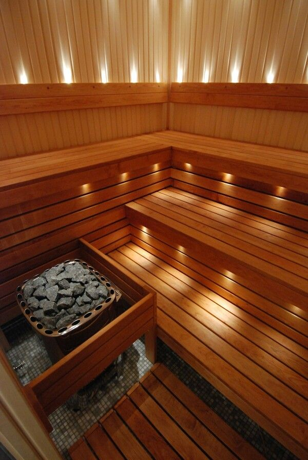 Pretty sure I want a Sauna in my next house!