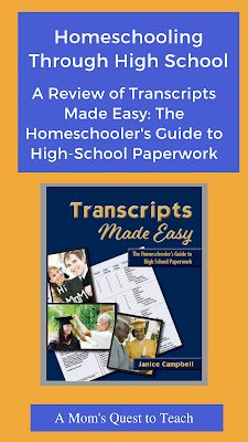Homeschooling By Excessive Faculty: A Evaluate of Transcripts Made Straightforward: The Homeschooler's Information to Excessive-Faculty Paperwork