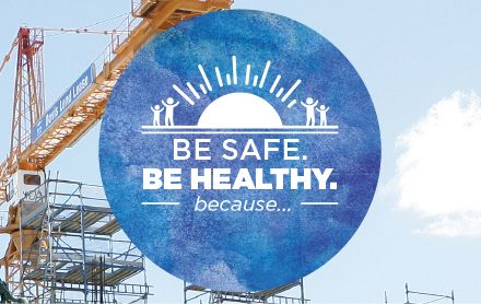 Be safe, Be healthy, beacause...