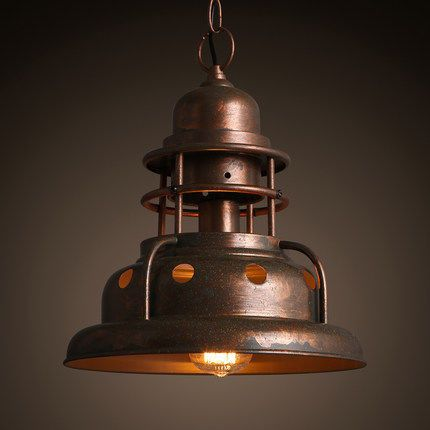 INDUSTRIO COLLECTION METAL LIGHT HOUSE CUSTOM LIGHT