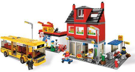 LEGO City 7641 Straathoek