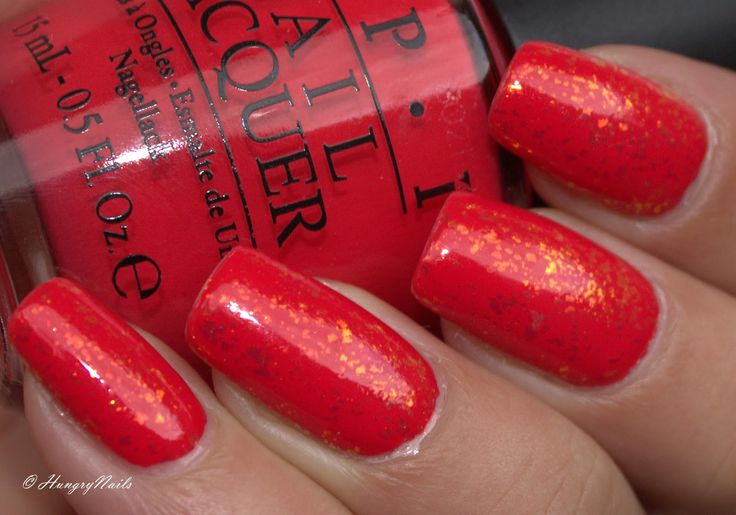 HungryNails: Swatches | Red Lights Ahead in Vegas