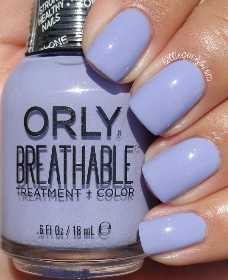 Orly Breathable Just Breathe // @kelliegonzoblog