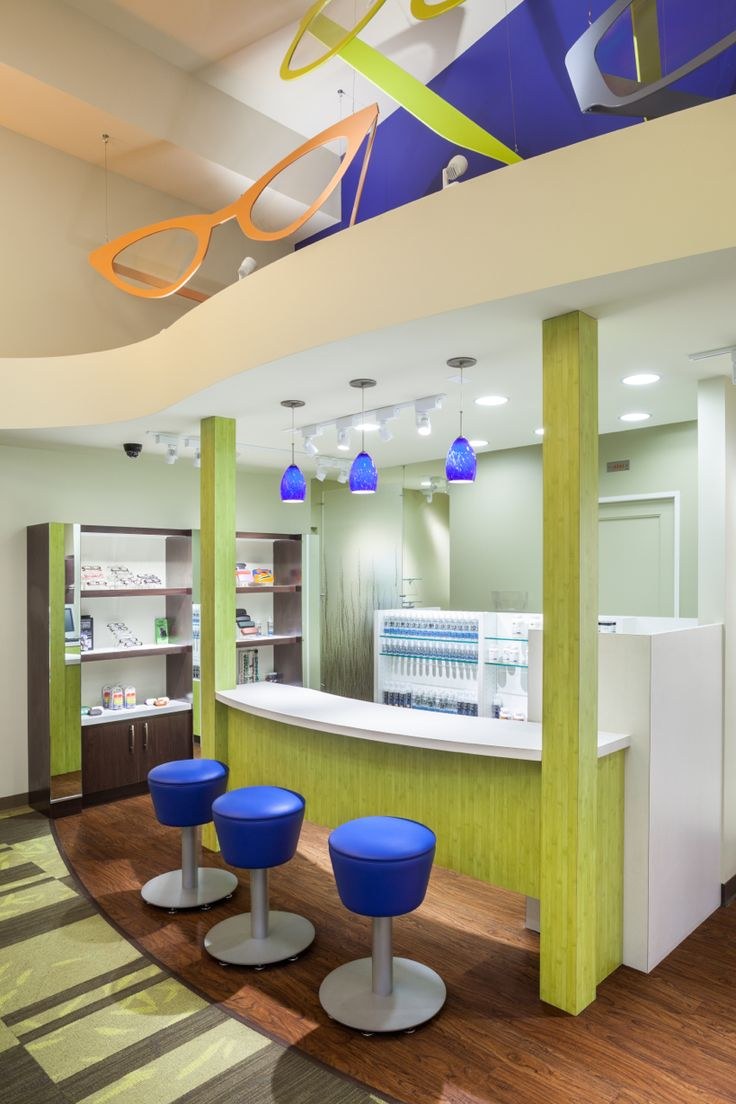 LaFollette Eye Clinic Optical Office Design Barbara
