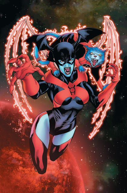 Red Lanterns (Blezz & Dex-Starr) by Robert Atkins