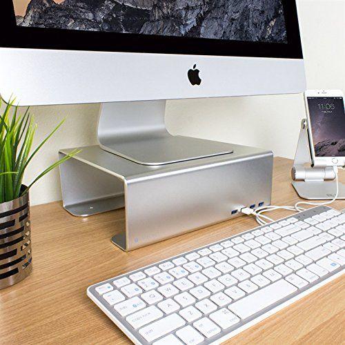 Amazon.co.jp: Satechi サテチ アルミニウム モニタースタンド ST-MS3US: パソコン・周辺機器