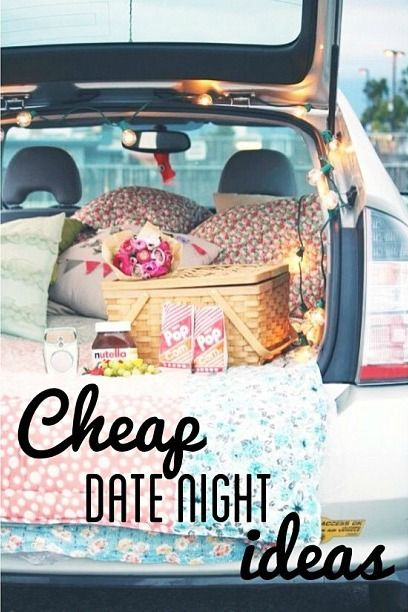 Cheap Date Night Ideas! Cute! Pin now, read later when I have a boyfriend...