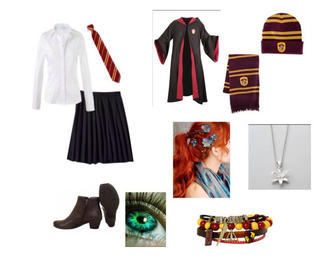 """""""Fem Harry Potter"""" by amzzy2004 on Polyvore featuring Warner Bros."""