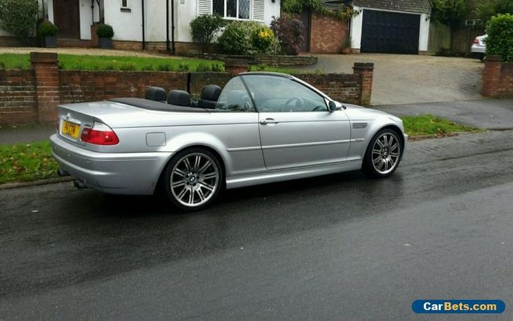 2004 04 BMW M3 CONVERTIBLE SILVER MANUAL #bmw #m3 #forsale #unitedkingdom