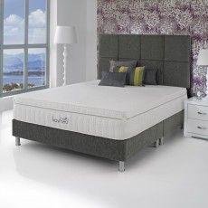 SleepSpa iKool Comfort Support Pocket King (150cm) Platform Top Divan Set