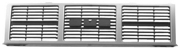 1985 - 1988 GMC Jimmy Grille for Single Headlamps