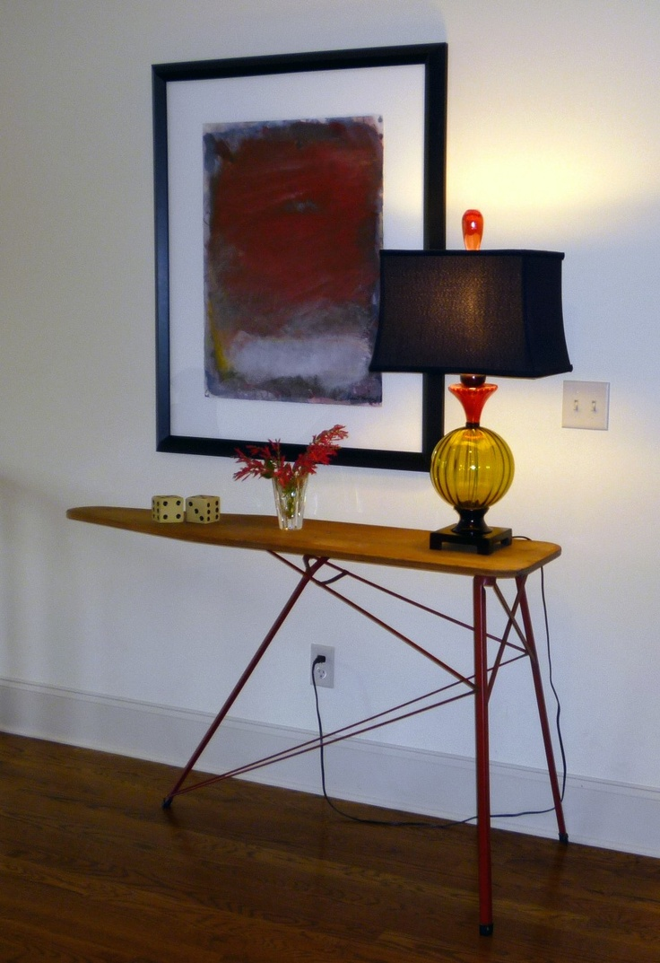 1930's Antique Ironing Board - Console table
