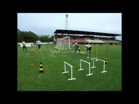 circuito fisico para goleiros - physical circuit for goalkeepers - YouTube