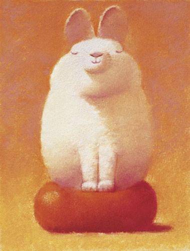 Very furry bunny