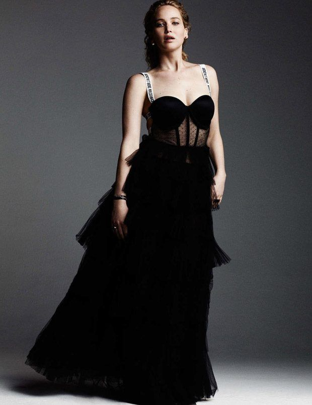 Jennifer Lawrence by Ben Hassett for Yo Dona Magazine December 2016 - Dior Spring 2017