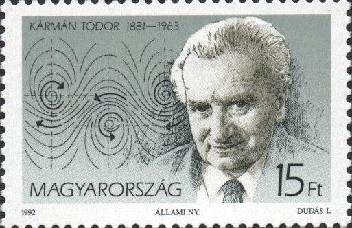 #3353-3354 Hungary - Theodore von Kármán and John von Neumann (MNH)