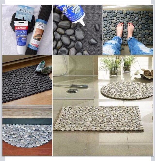 Diy Rock Mat You Can Purchase Everything At Home Depot
