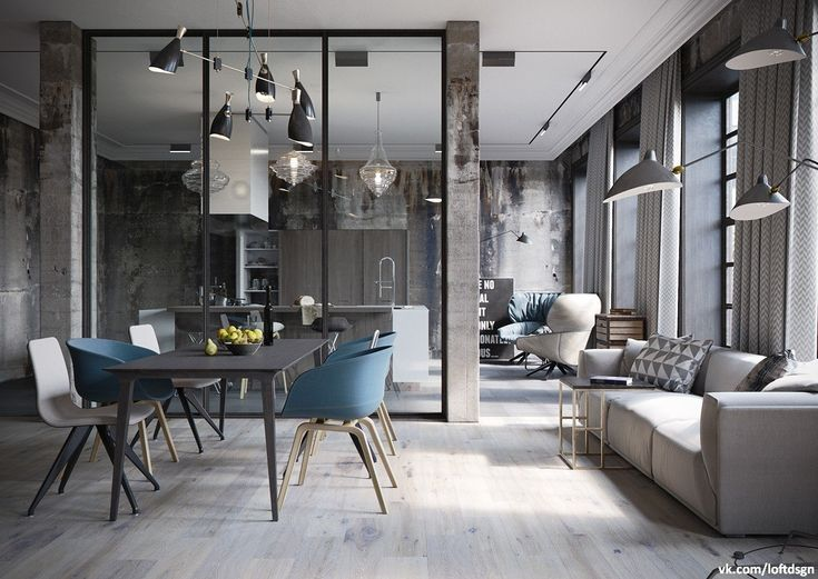 Loft Spaces 161 best interiors □ open space and lofts images on pinterest
