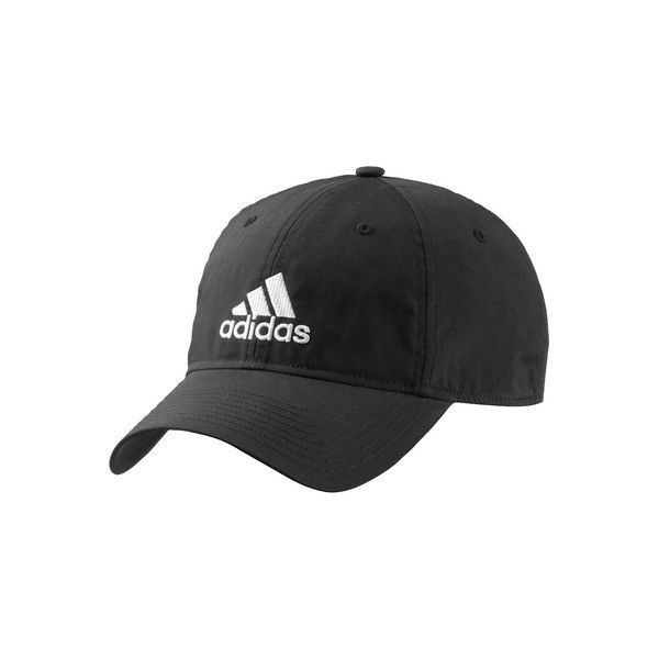 adidas Performance Logo Cap ❤ liked on Polyvore featuring accessories, hats, adidas cap, logo caps, adidas, adidas hats and logo hats