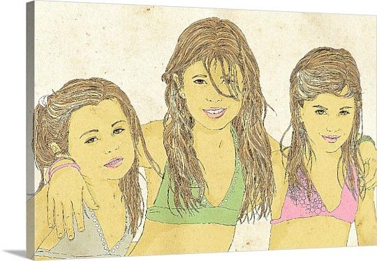 Photos to Cartoon Canvas Prints