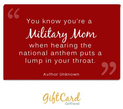 Military moms deserve an extra measure of appreciation on Mother's Day. #QuotesOnGiftCards