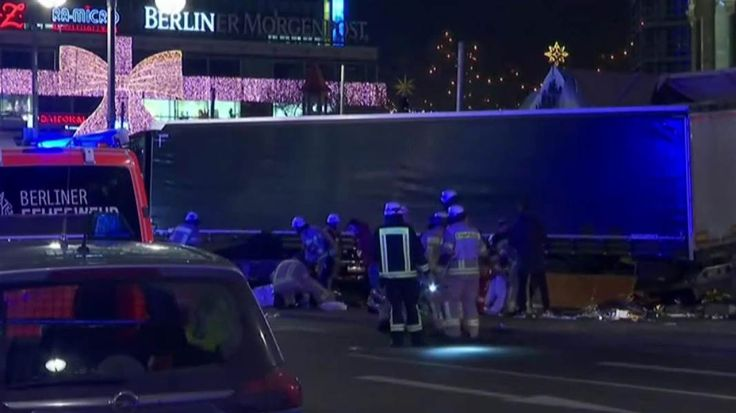 A truck rammed a crowded Christmas market in Berlin hours after the Russian Ambassador to Turkey was assassinated by a gunman invoking Aleppo. NBC News' Ayman Mohyeldin, counterterror expert Malcolm Nance, and Russia expert Nina Khrushcheva join Lawrence.